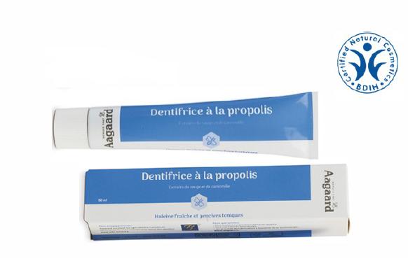 歯周病に打ち勝つ「アーガード・プロポリス歯磨き50ml」