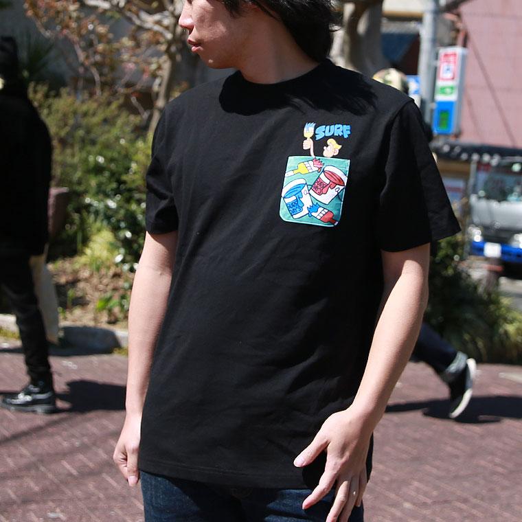 ペンキ塗りキャラクター半袖Tシャツ【ペア対応】