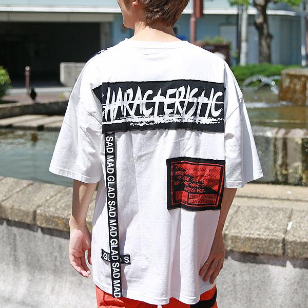 テープギミックルーズTシャツ【手越○也 着用モデル】【セール対象外】