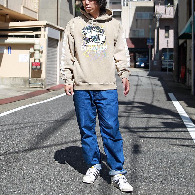 ダックシブキパーカー【ペア対応】