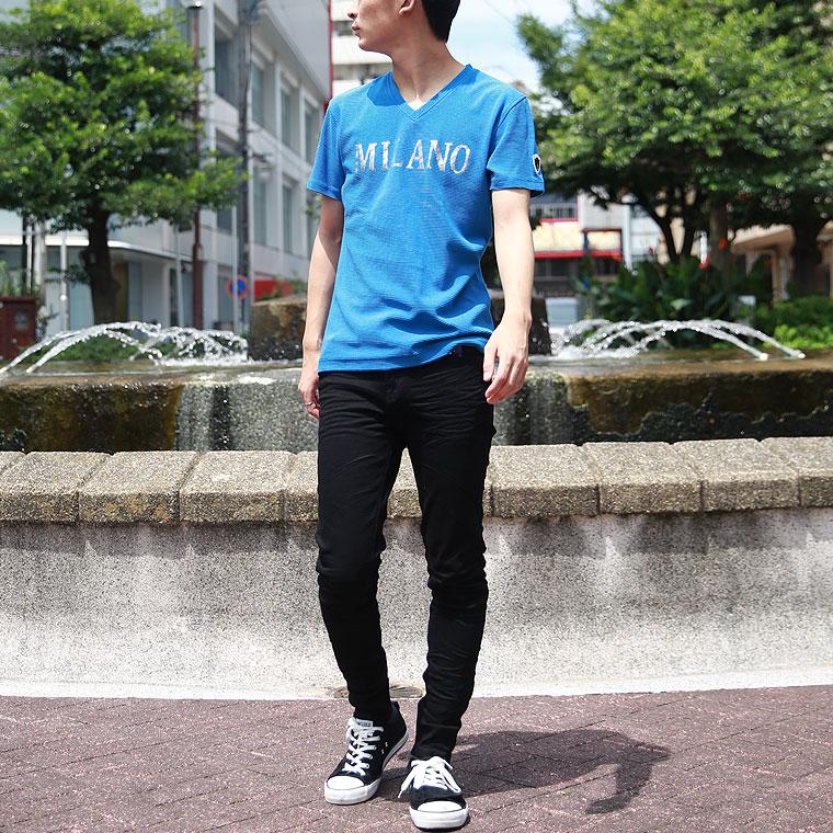 ヴィオラ ミラノロゴ箔半袖Tシャツ