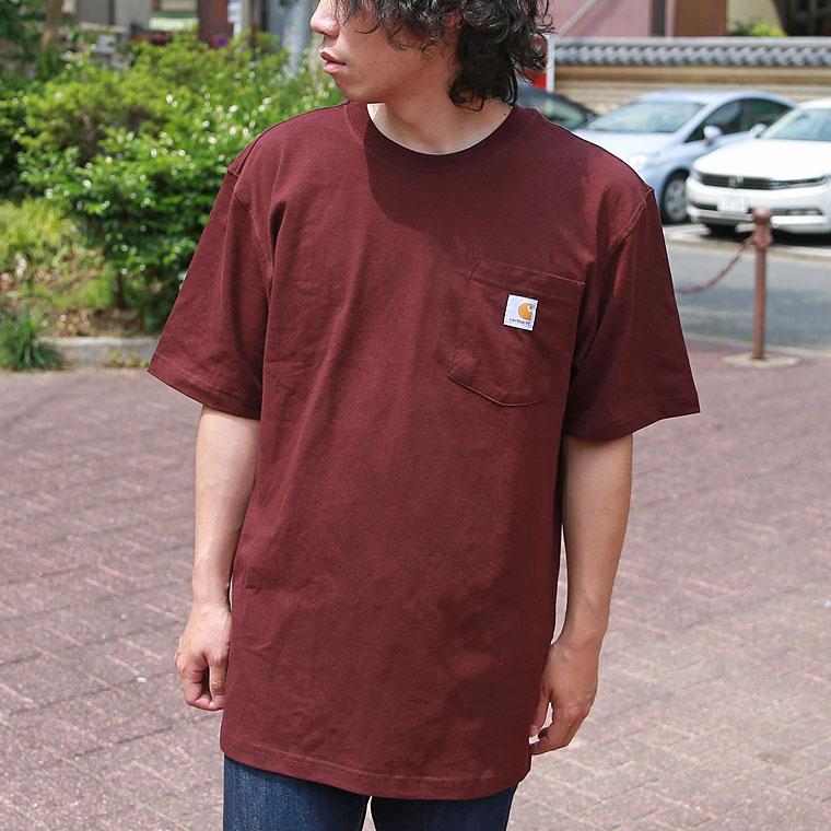 CARHARTT ポケット半袖Tシャツ