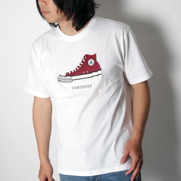 コンバースブロックロゴTシャツ(ペア対応)