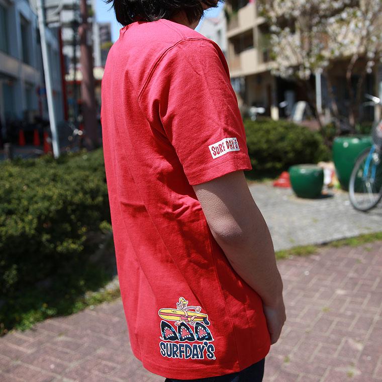 斜めポケットドロップ半袖Tシャツ【ペア対応】