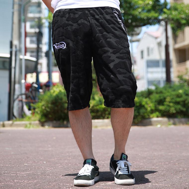 カモパイルジャガードショーツ【ノートン】