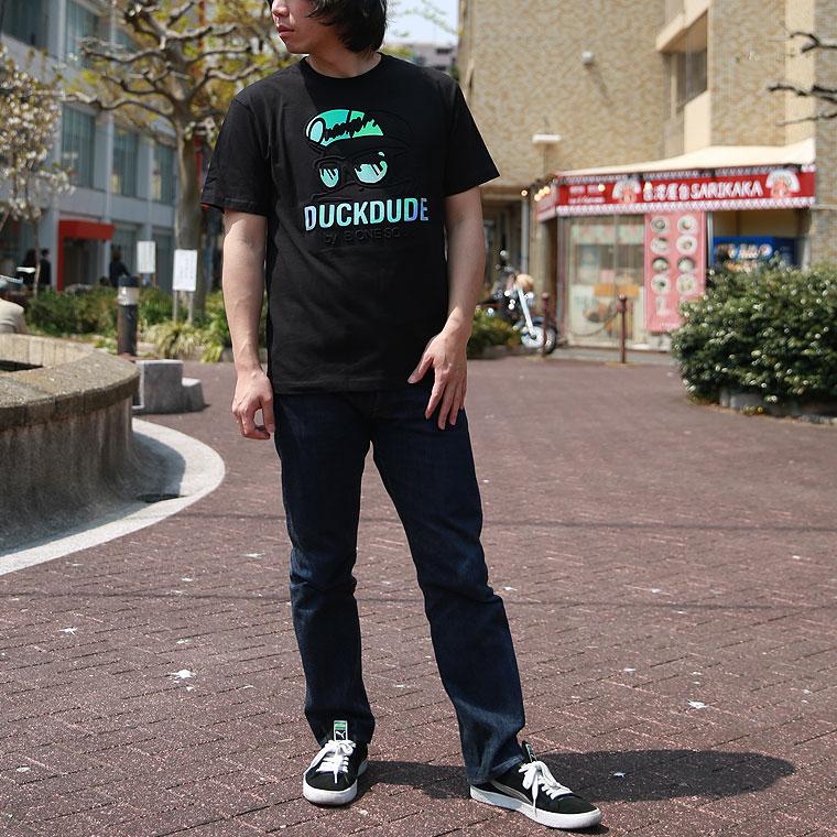 ダックエンボス半袖Tシャツ【ペア対応】