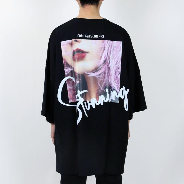 ガールフォトモンスターシルエットTシャツ