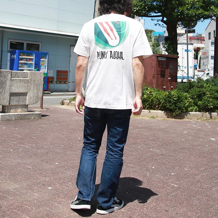 パンキーアロハロゴ半袖Tシャツ【ペア対応】