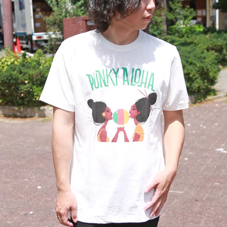 パンキーアロハアイス半袖Tシャツ【ペア対応】