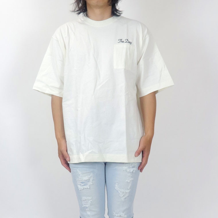 風景貼付BIG半袖Tシャツ(ペア対応)