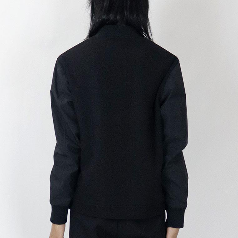 袖切り替えハイブリッドボンバージャケット