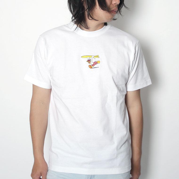 サーフドナルド刺繍半袖TEE(ペア対応)