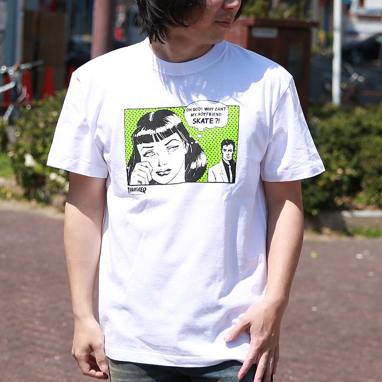 アメコミイラストTシャツ【スラッシャー】
