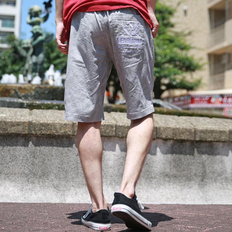 LIMITEDストレッチ総柄ショーツ【ノートン】
