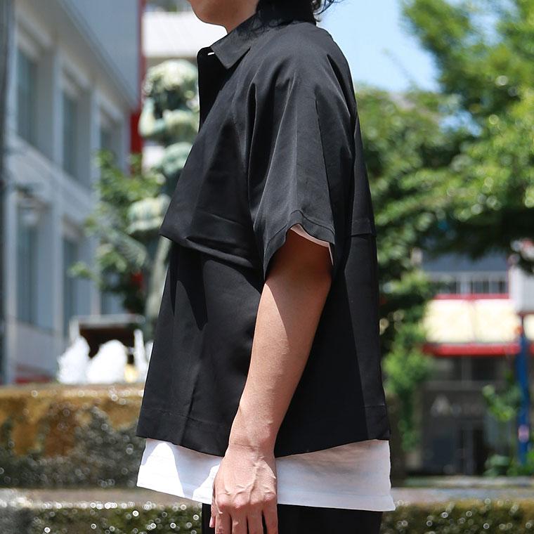 トレンチ風シャツジャケット