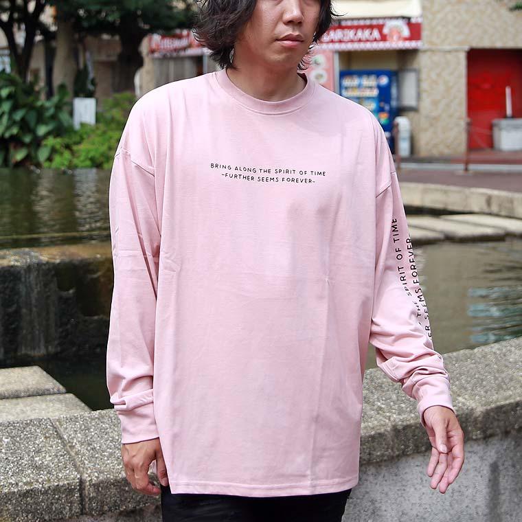 イラストプリントBIG長袖Tシャツ