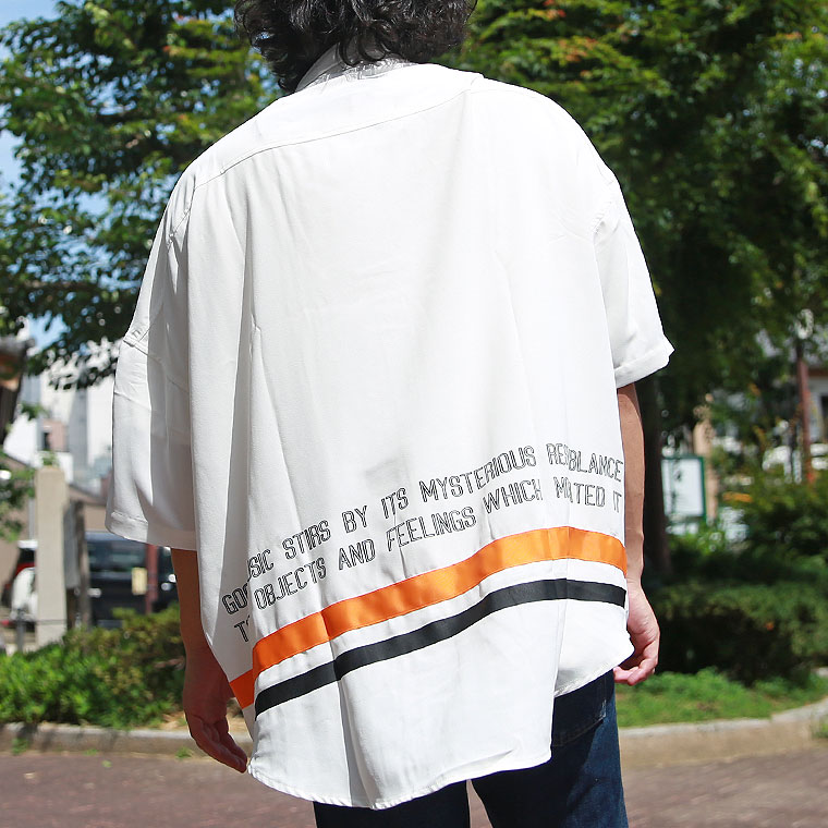 ストラップビッグシャツ