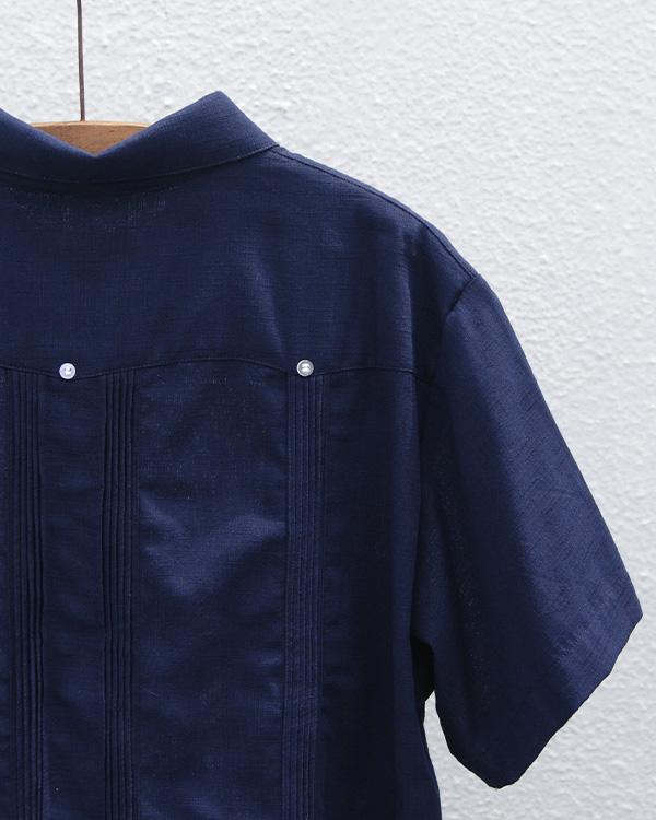 tesoro / キューバシャツ / ネイビー