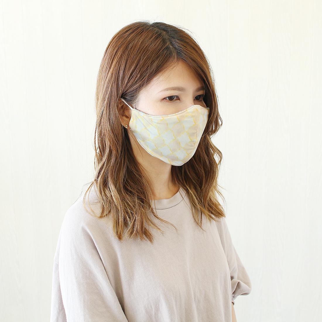 shanti / 冷感パイルマスク [メール便対象品]