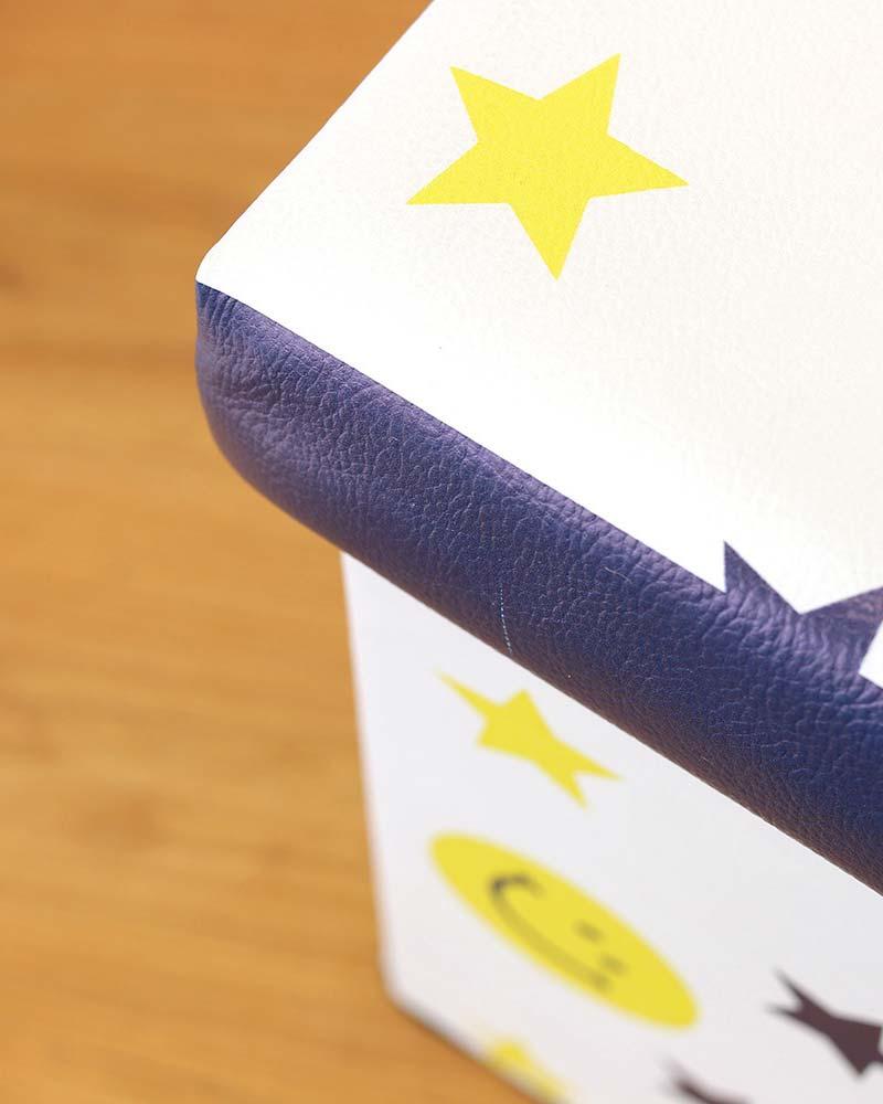 shanti / 収納BOXスツール /スタースマイル