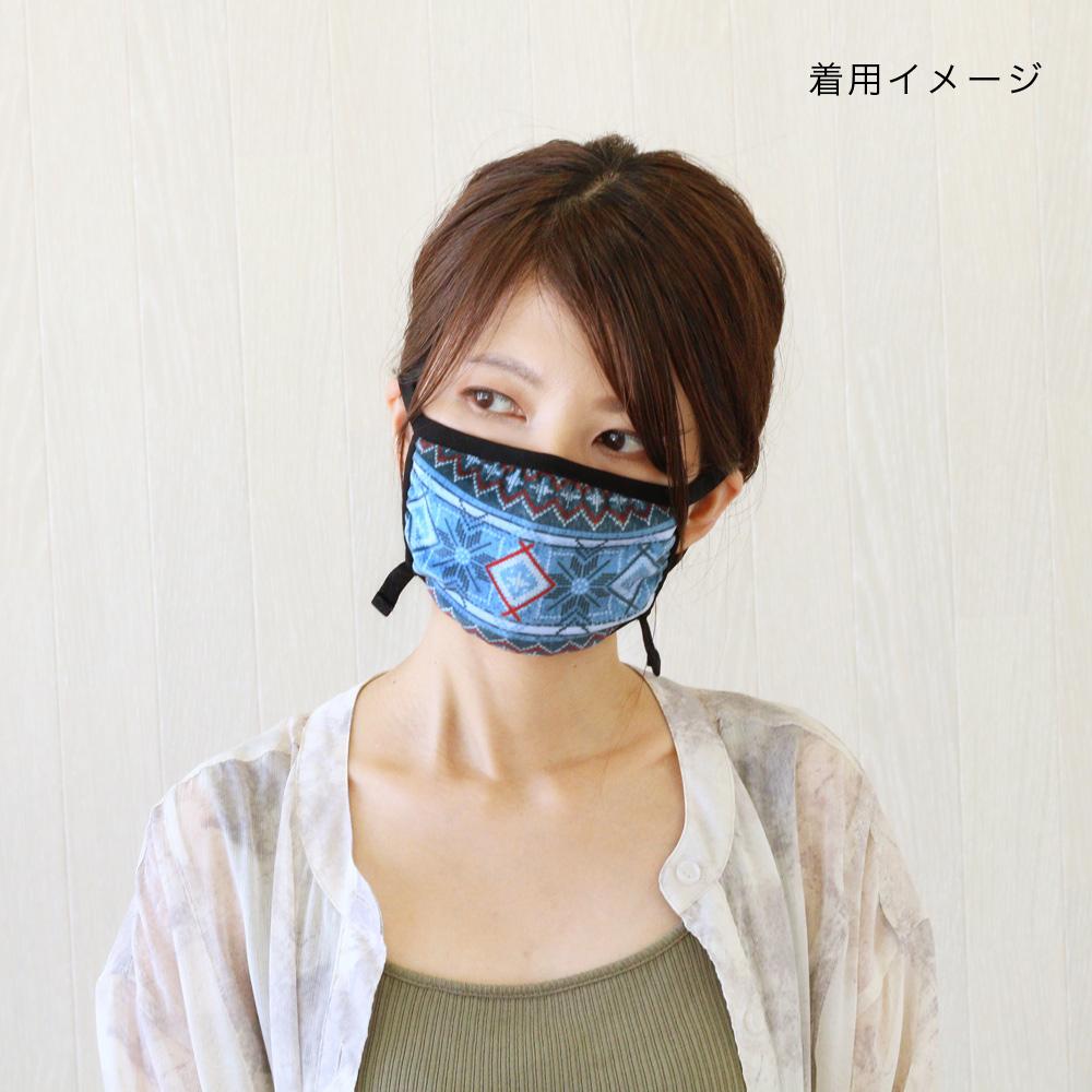 shanti / デジタルプリントマスク / スマイル