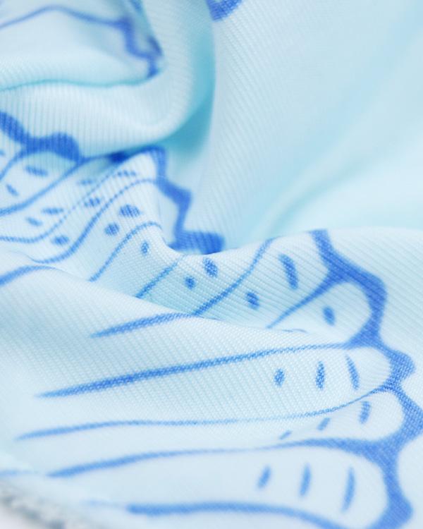 【価格改定】shanti / 冷感オリジナルマスク シェルブルー