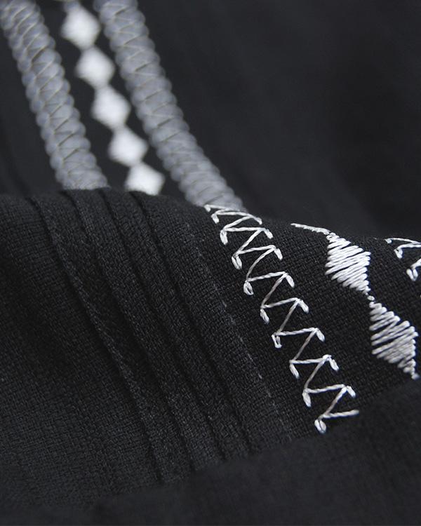 tesoro / キューバシャツ / ブラック×ホワイト