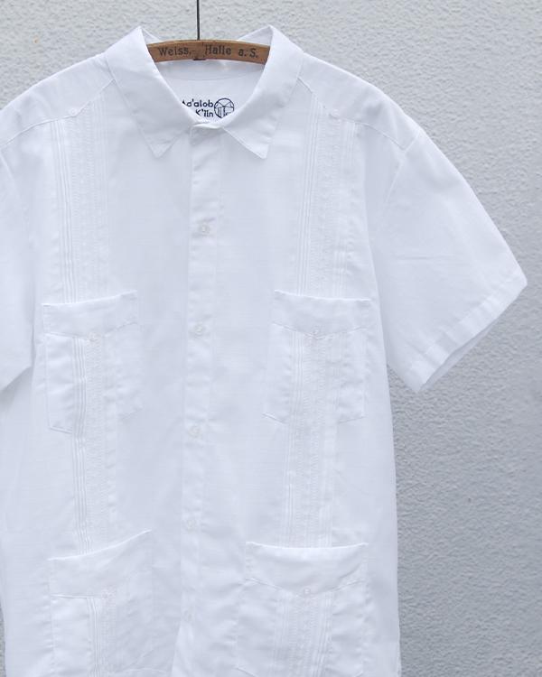tesoro / キューバシャツ / ホワイト