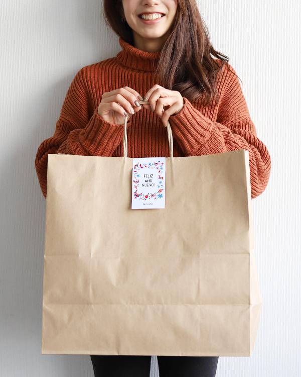【ご好評につき販売期間延長】tesoro / 2021Charming Bag / タイプA エスニック柄好きベーシック