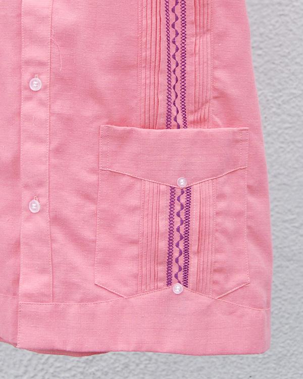 tesoro / キューバシャツ / ピンク