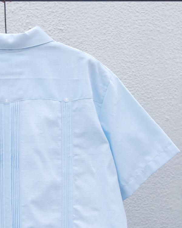 tesoro / キューバシャツ / ライトブルー