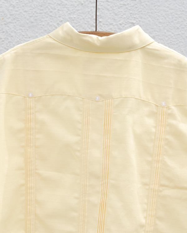 tesoro / キューバシャツ / ライトイエロー