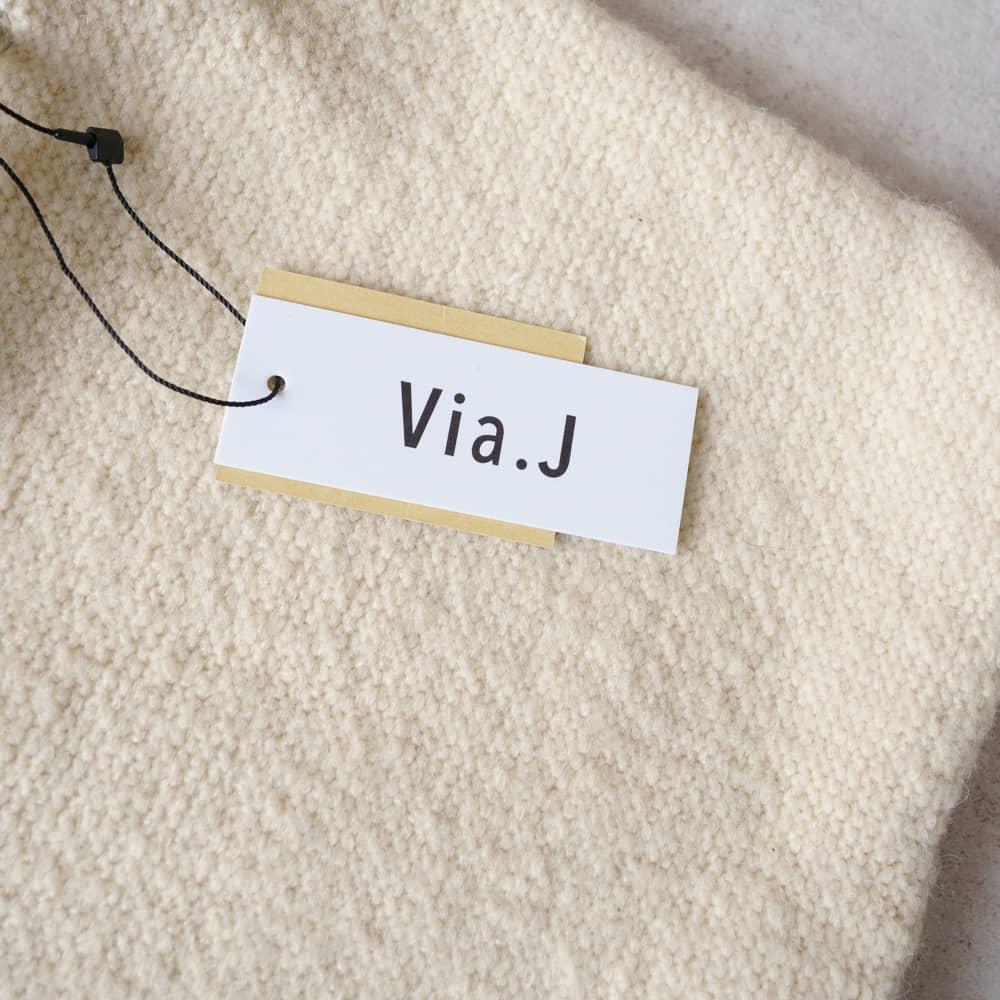 巾着ショルダーバッグ/Via,J