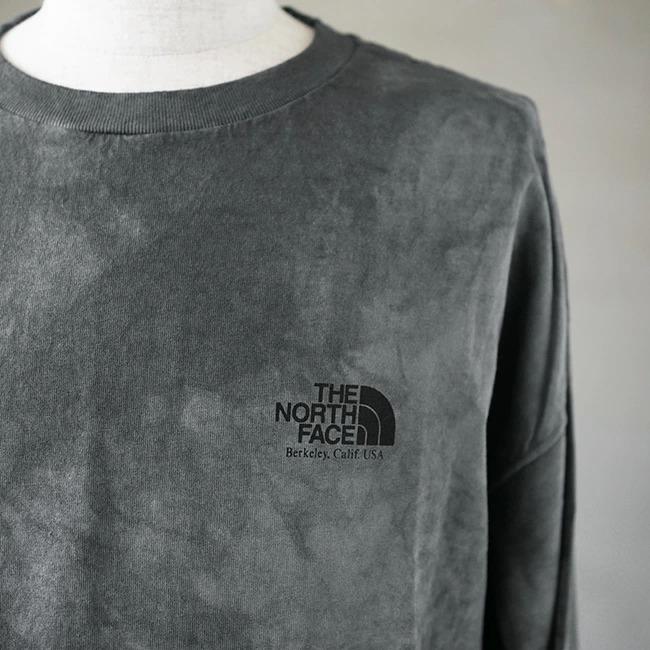 ◇( NT3073N ) / THE NORTH FACE PURPLE LABEL (ザ・ノースフェイス パープルレーベル) / 7oz Tie Dye L/S Logo Tee (タイダイロゴTシャツ)