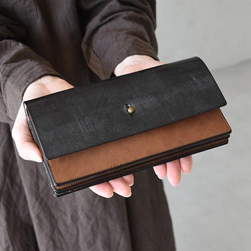 (flp-15) / forme (フォルメ) / Long wallet bridle(ロング ウォレット コンビ ブライドル) / メール便対象外