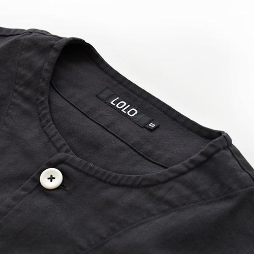(ls-370) / LOLO(ロロ) / クルーネックシャツ / メール便対象外