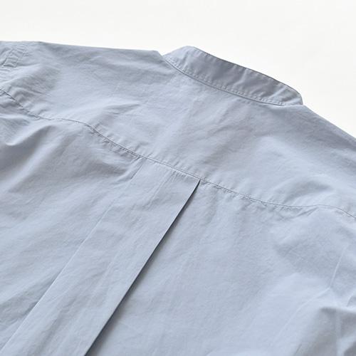 (w12121303) / IKIJI(イキジ) / スタンドカラーシャツ  / メール便対象外