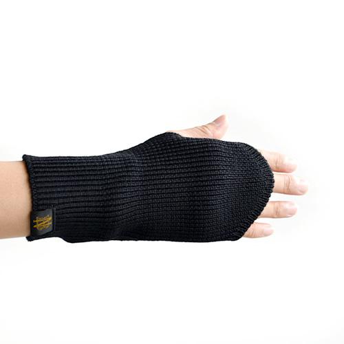 (bn-20fi-007) / BATONER(バトナ—) / SIGNATURE WOOL ARM WARMER SHORT(シグネチャーウールアームウォーマーショート)