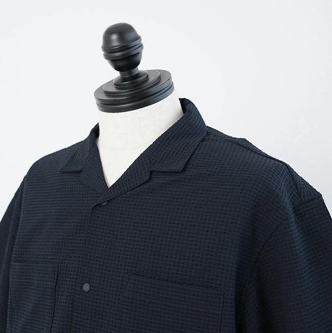 ◎◎◇[NR22160]THE NORTH FACE(ザノースフェイス)/S/S Seersucker Vent Mesh Shirt/ショートスリーブシアサッカーベントメッシュシャツ【SUMMER SALE30%OFF】