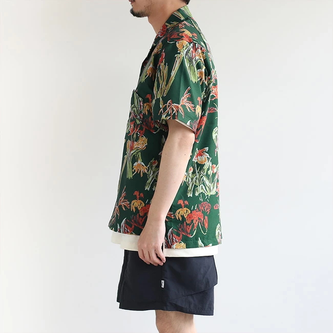 ◎◎[21SU0080/3GR/4GR]snow peak/(スノーピーク)Quick Dry Shirt M Green(クイックドライシャツMグリーン)【SUMMER SALE40%OFF】
