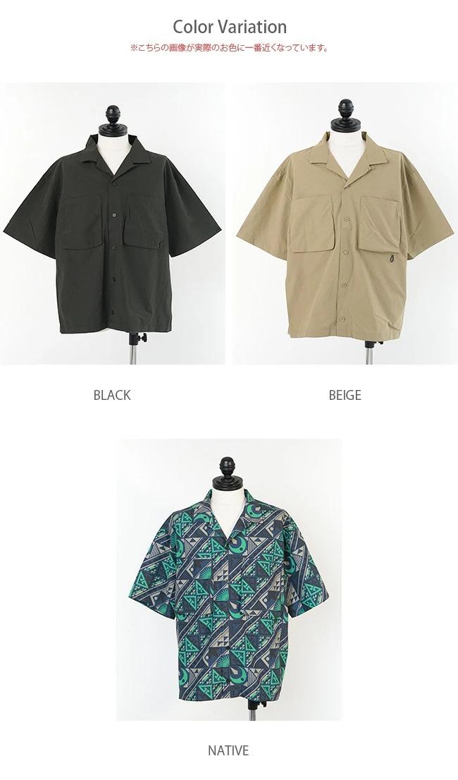 ◎◎(WT21016PA) / WILD THINGS(ワイルドシングス) / S/S CAMP SHIRT(S/Sキャンプシャツ)【SUMMER SALE40%OFF】