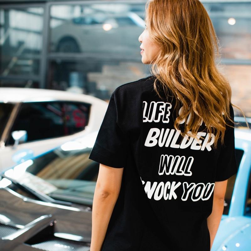 LBWK LIFE STYLE BUILDER Tee Black