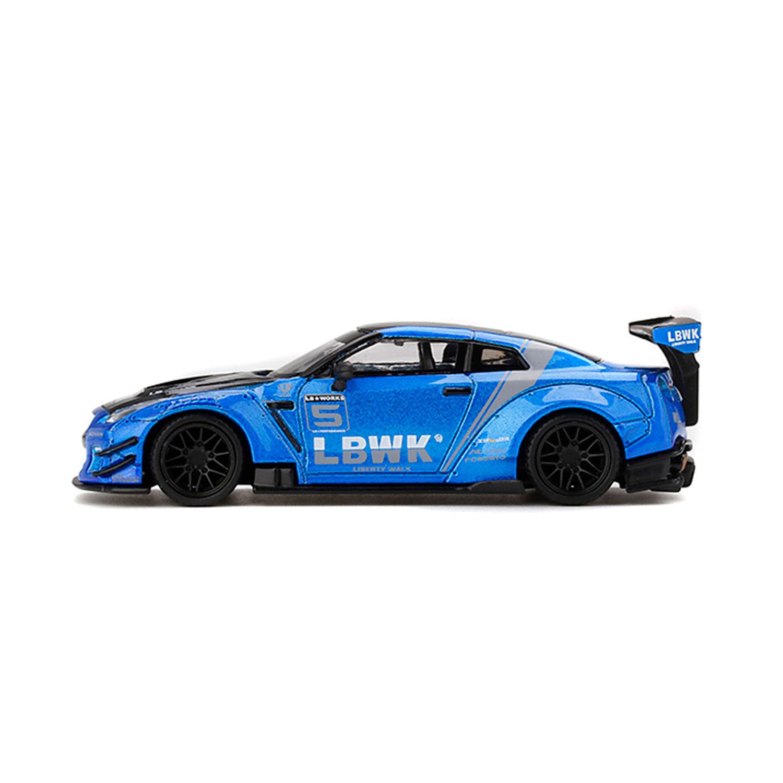 1/64 MINI GT LB★WORKS GT-R Type2 Blue