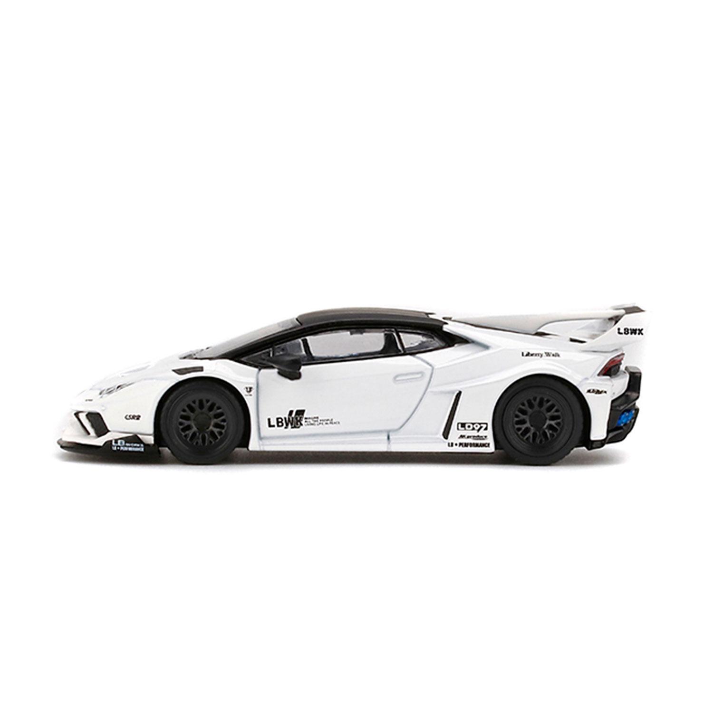 1/64 MINI GT LB-SILHOETTE Huracan White