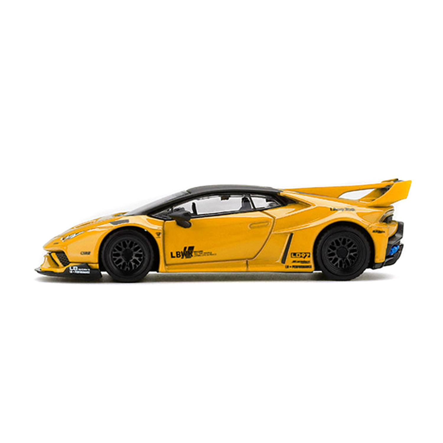 1/64 MINI GT LB-SILHOETTE Huracan Yellow