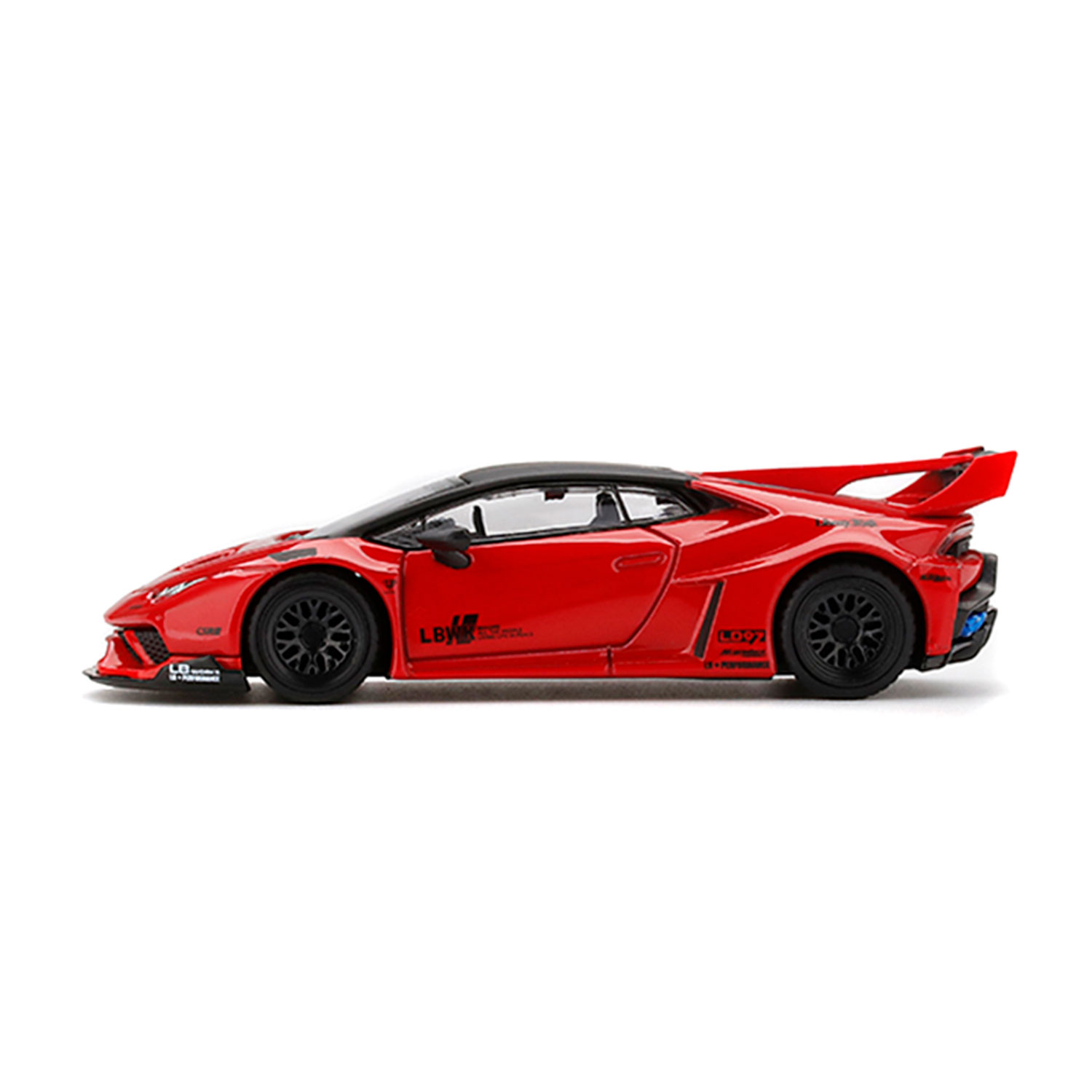 1/64 MINI GT LB-SILHOETTE Huracan Red