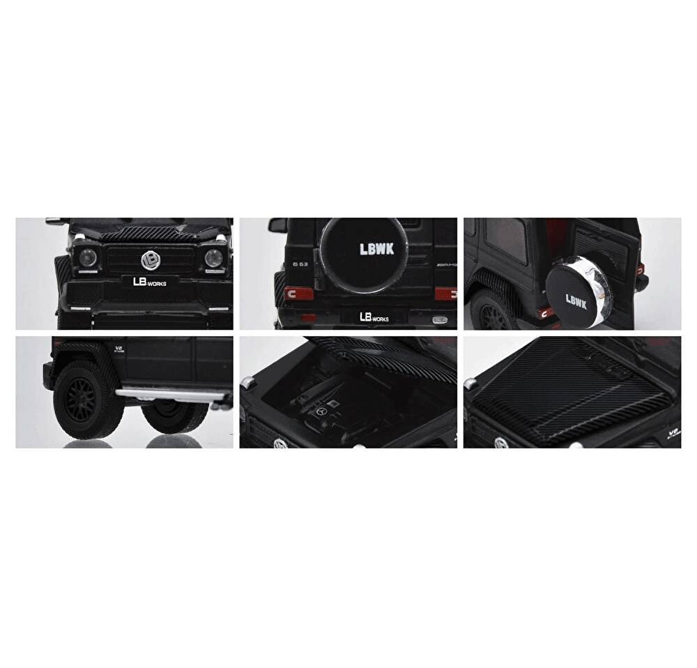1/64 ERA CAR LB-WORKS G63 Black