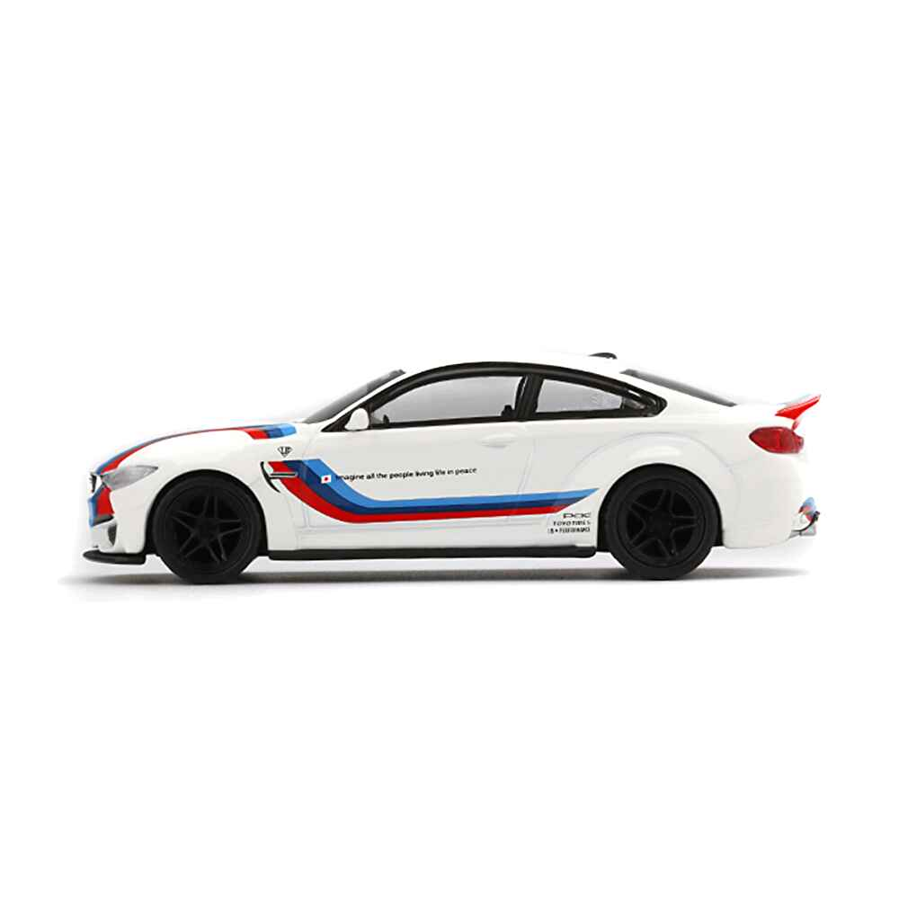 1/64 MINI GT LB-WORKS M4 White