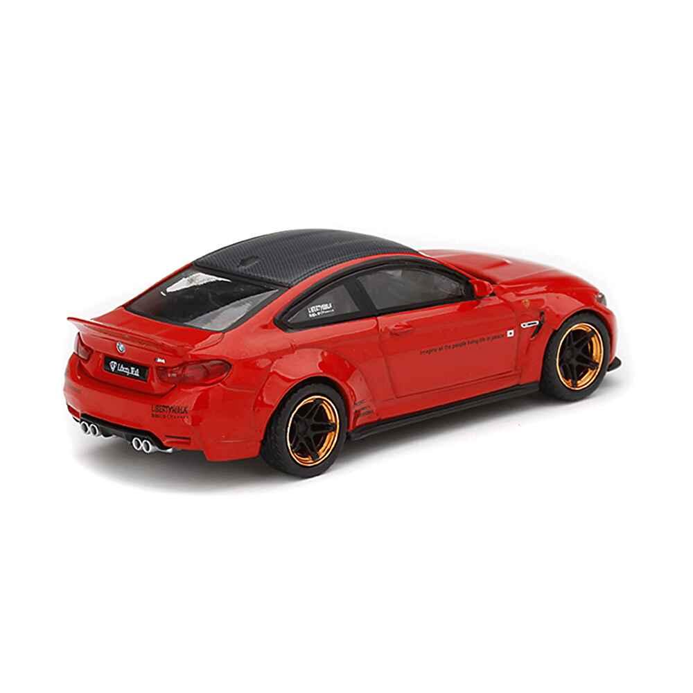 1/64 MINI GT LB-WORKS M4 Red