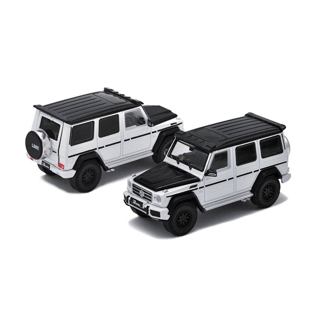 1/64 ERA CAR LB-WORKS G63 White